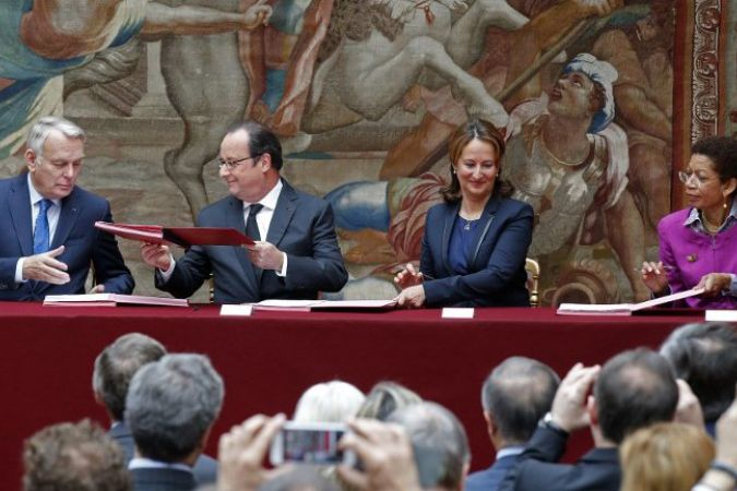 Ratification de l'accord sur le climat par la France le 15 juin 2016