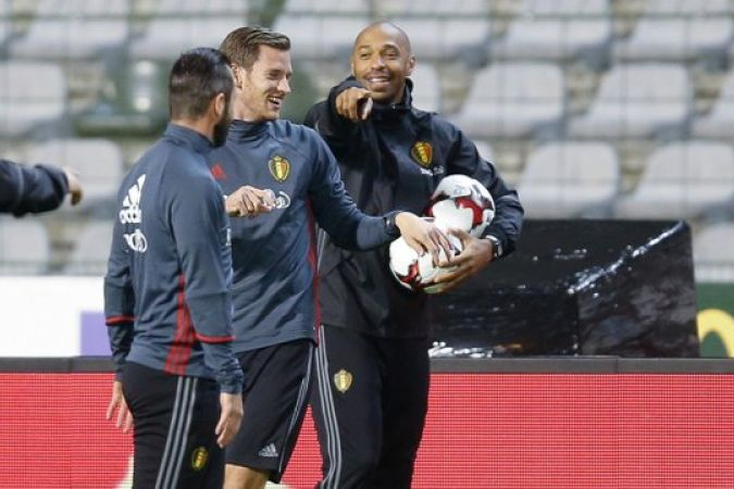 Thierry Henry Belgique
