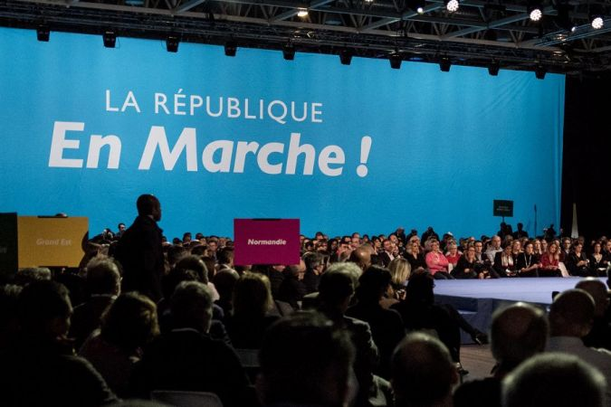 En marche meeting