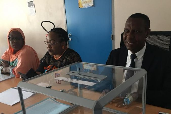 Bureau de vote Mamoudzou second tour législative partielle