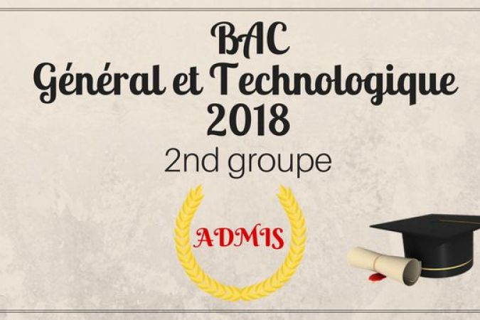 Bac 2nd groupe