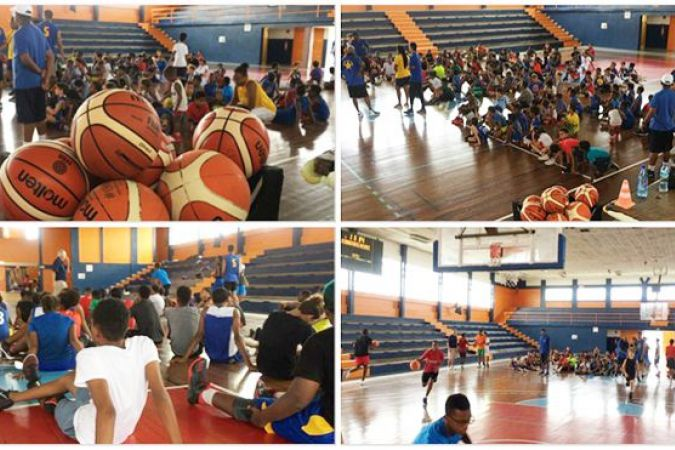 Basket camp du Golden star