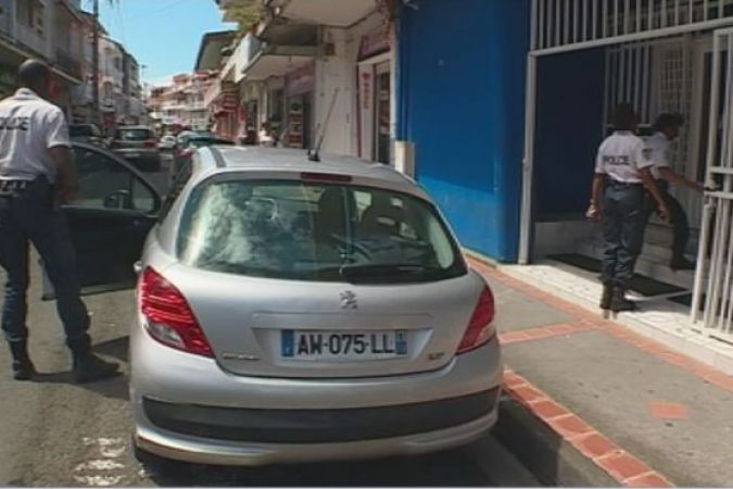 Police Guadeloupe véhicules