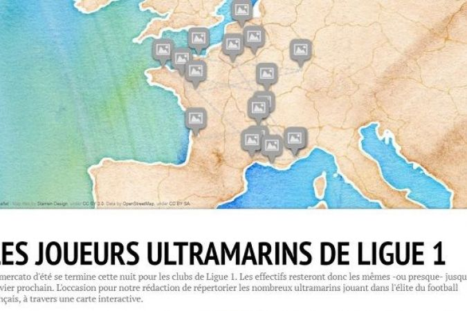 visuel carte interactive ligue 1