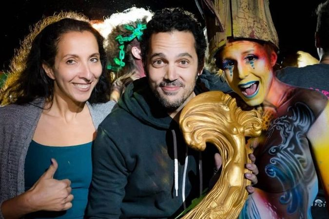 Steek, champion du monde de body painting